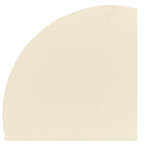 Dunicel Round Tablecover Cream 240CM DIA  10/Case   143578