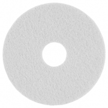 17inch White Floor Pads - 5 Per Case