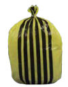 Tiger Stripe Waste Bag M/D 20RX50 220X430X660 17L FLO524