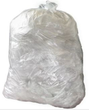 NHS CLEAR WASTE BAG 90L 6RX75 753X920   MVF033