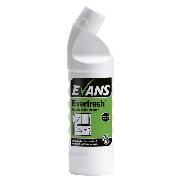 Evans Everfresh Apple 6*1LTR Toilet And Washroom Cleaner