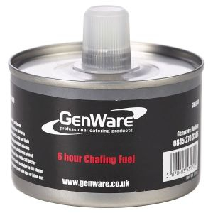 6HR CHAFFING FUEL WITH WICK 24/CASE - GENWARE / HOT STUFF