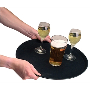 14inch Round Anti Slip Tray
