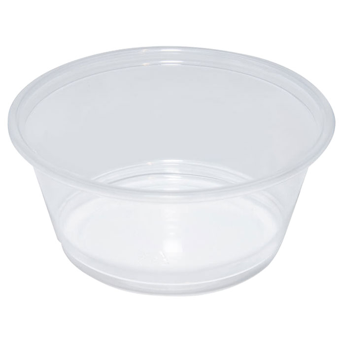 3OZ TRANSLUCENT PORTION POT CASE X 2400