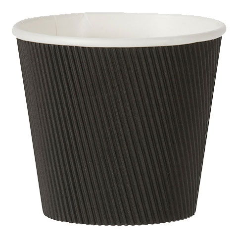 20OZ BLACK RIPPLE PASTA POT 500 PER CASE