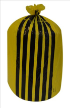 TIGER STRIPE WASTE BAG H/D 380X711X990 80L 6RX25 FLO520