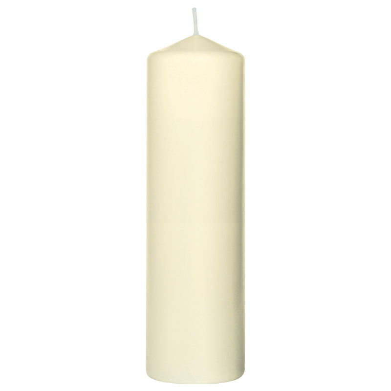 Pillar Candle Champagne 220*70MM - 10 Per Case 105917