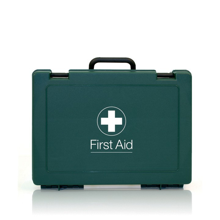LARGE WORKPLACE FIRST AID KIT GREEN 25.5CMx34.5CMx10CM