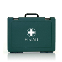 SMALL CATERING FIRST AID KIT GREEN 18CMx27CMx9CM