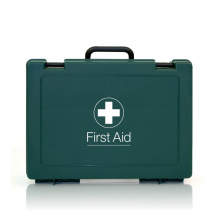 MEDIUM CATERING FIRST AID KIT GREEN 22.5CMx27.5CMx9CM