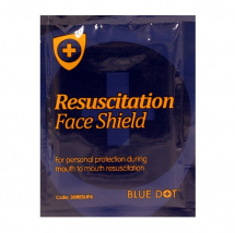 Air-flo Resuscitation Face Shielf With 1 Way Valve