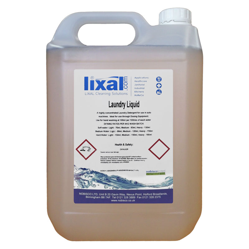 LIXAL SUPER LAUNDRY LIQUID 5L