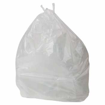 CLEAR REFUSE SACK FLO120 15KG +  CASE X 200