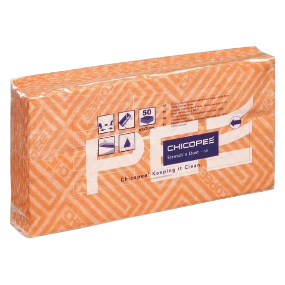 CHICOPEE STRETCH N OIL IMPREGNATED CLOTH 12PKS of 50