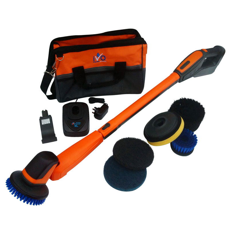 IVO POWER BRUSH XL WITH LONG HANDLE