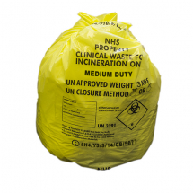 Clinical Waste Bag With Ties Case 1000(20*50/Roll) FLO508