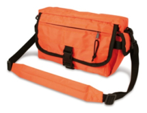 Orange Strasbourg Bag 17.5CM*30CM*10CM