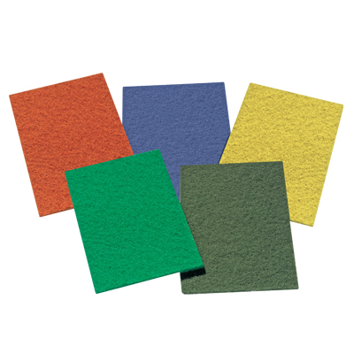 SOFT SCOUR PAD YELLOW 10 PER PACK