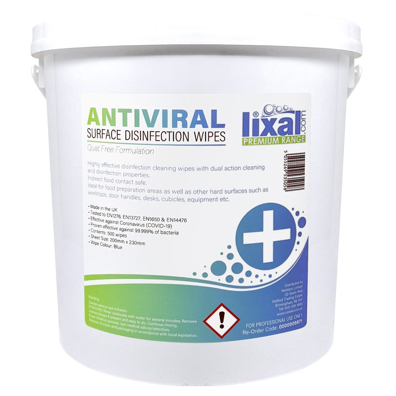ANTIBAC SURFACE DISINFECTANT WIPES 500 PER BOX