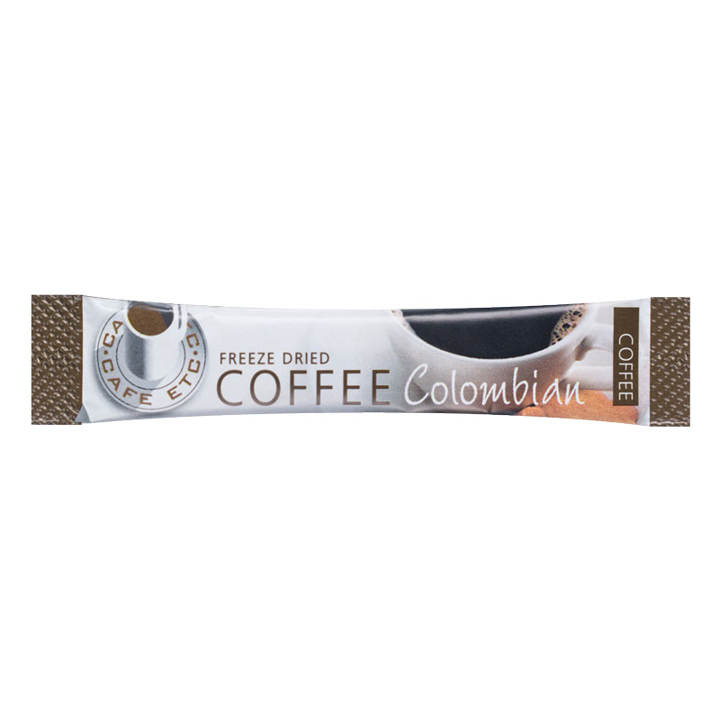 COLOMBIAN COFFEE STICKS 1.5G CASE X 250 CAFE ETC