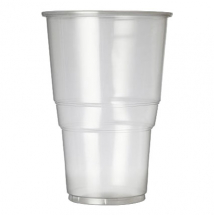 Oxo Biodegradable Flexy Glass Pint To Rim CE Marked (Case/1000)