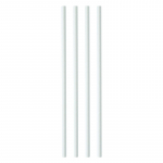 White Paper Straws 200*6mm (Pack/250)