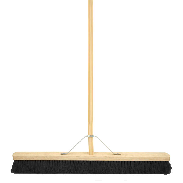 36inch Coco Broom Complete 1.1/8inch Stale + Metal Stay