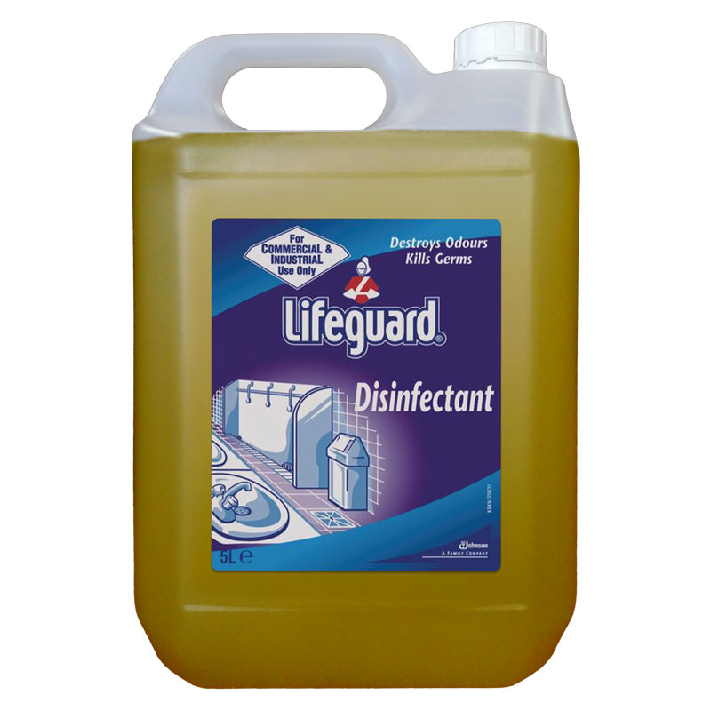 LIFEGUARD DISINFECTANT 2*5L PER CASE    100858576