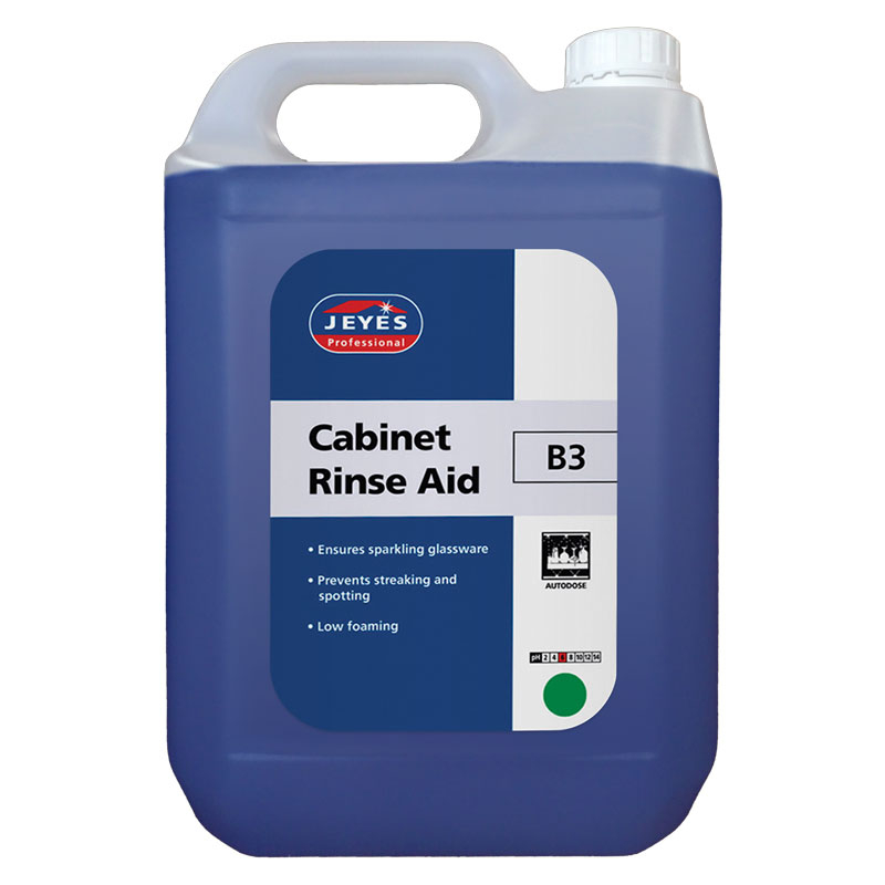 B3 Cabinet Rinse Aid 2*5LTR