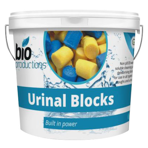 Sanilav Urinal Blocks Ocean 3KG Per Bucket