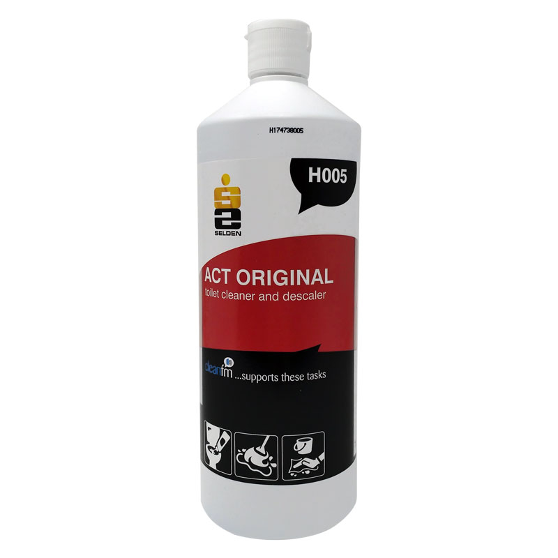 TOILET CLEANER ACT 1 LITRE 12 PER PACK