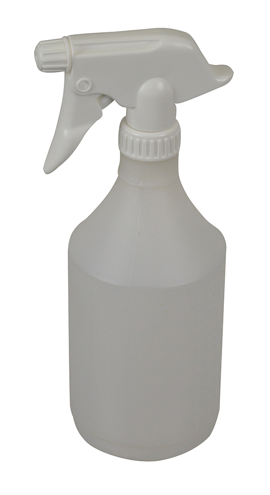 Trigger Spray Bottle Complete White      SYR