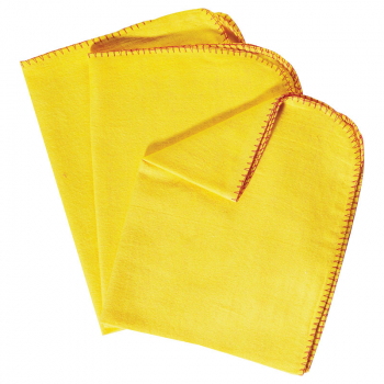 Yellow Cotton Duster 10 Per Pack