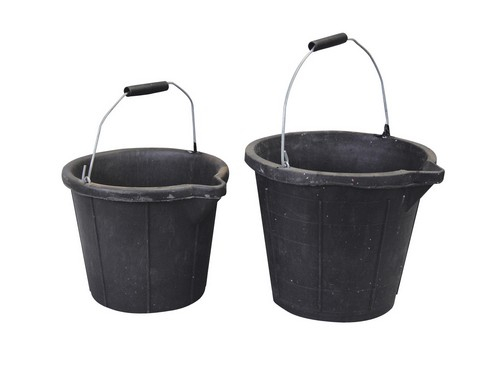 Heavy Duty Rubber Bucket - 10L
