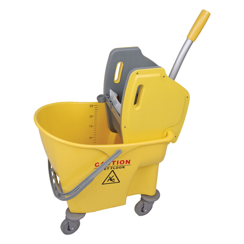 23L Yellow Kentucky Mop Bucket With Ringer