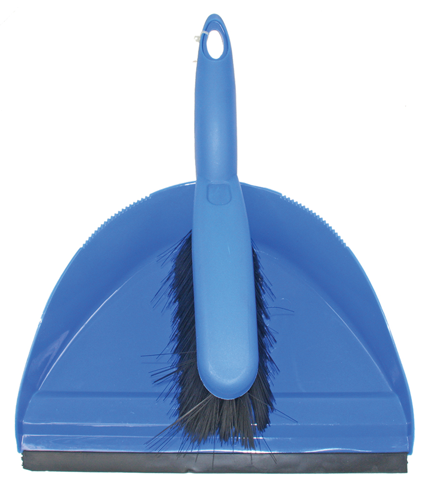 Dustpan & Brush Set - SYR Blue