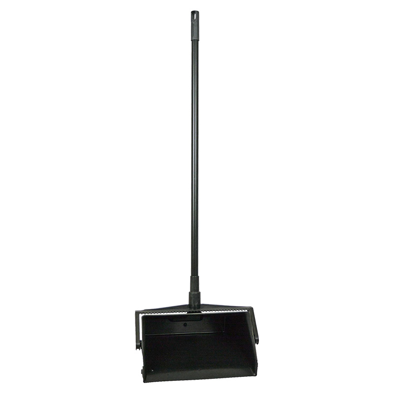 12inch Plastic Lobby Dustpan With Metal Handle