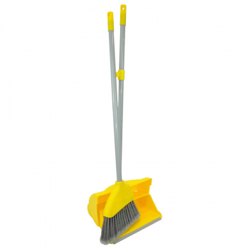 Yellow Lobby & Dustpan Set