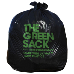 Black Refuse Sacks 18x29x38 CHSA 10kg Green Sack (Case/200)