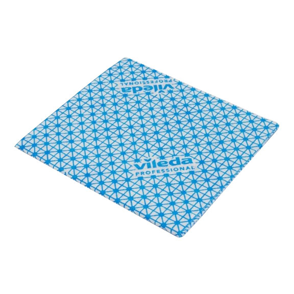 Vileda Local Authority Cloth Blue 5 Per Pack