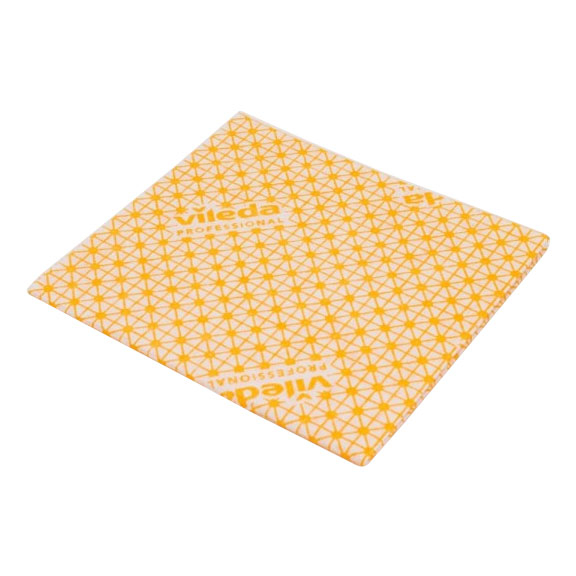 VILEDA CATERING CLOTH YELLOW 10 PER PACK