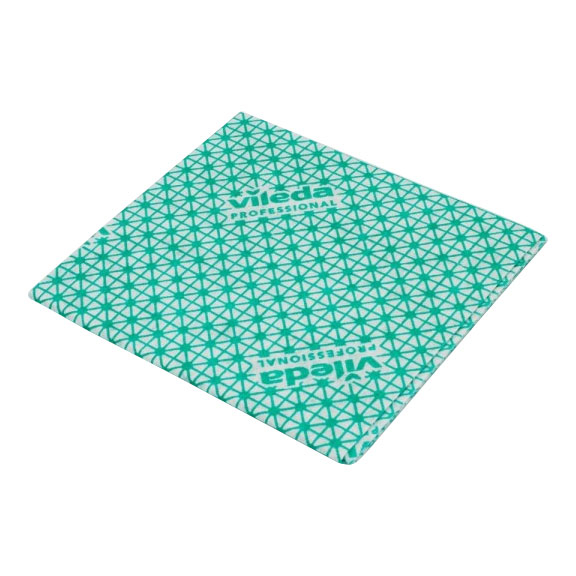 Vileda Local Authority Cloth Green 5 Per Pack