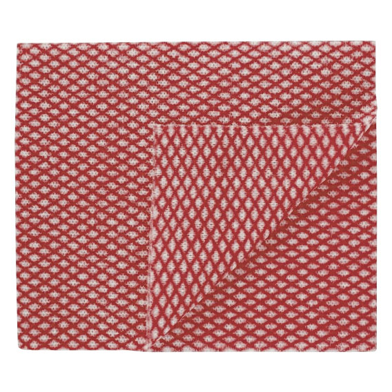 Lightweight Cloth Red 50 Per Pack