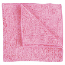 Heavyweight Microfibre Cloths Red (Pack/10)