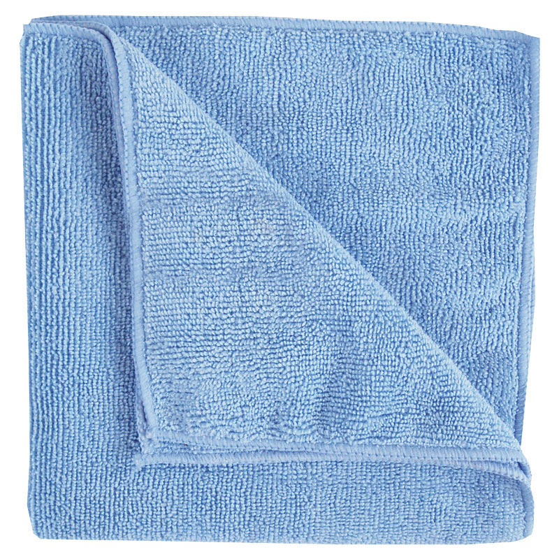 Micro Fibre Cloth Heavyweight Blue 10 Per Pack Shine