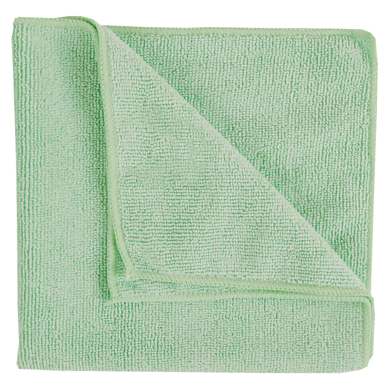 Micro Fibre Cloth Heavyweight Green 10 Per Pack Shine