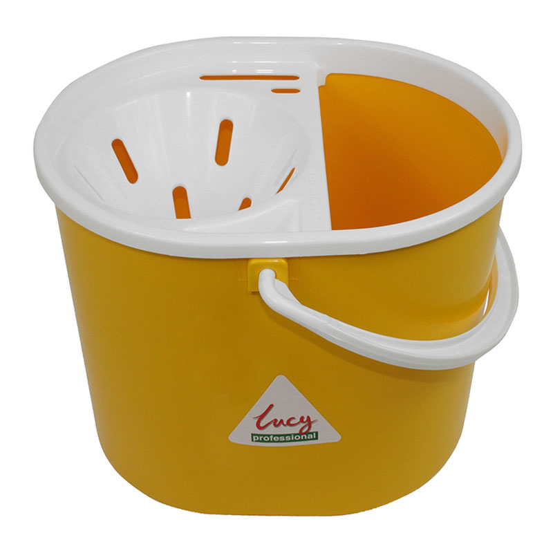 Dolly Mop Bucket 12L Yellow
