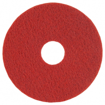 15inch RED FLOOR PAD 5 PER PACK