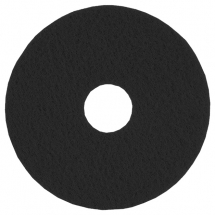 17inch Black Floor Pad 3M 5 Per Pack