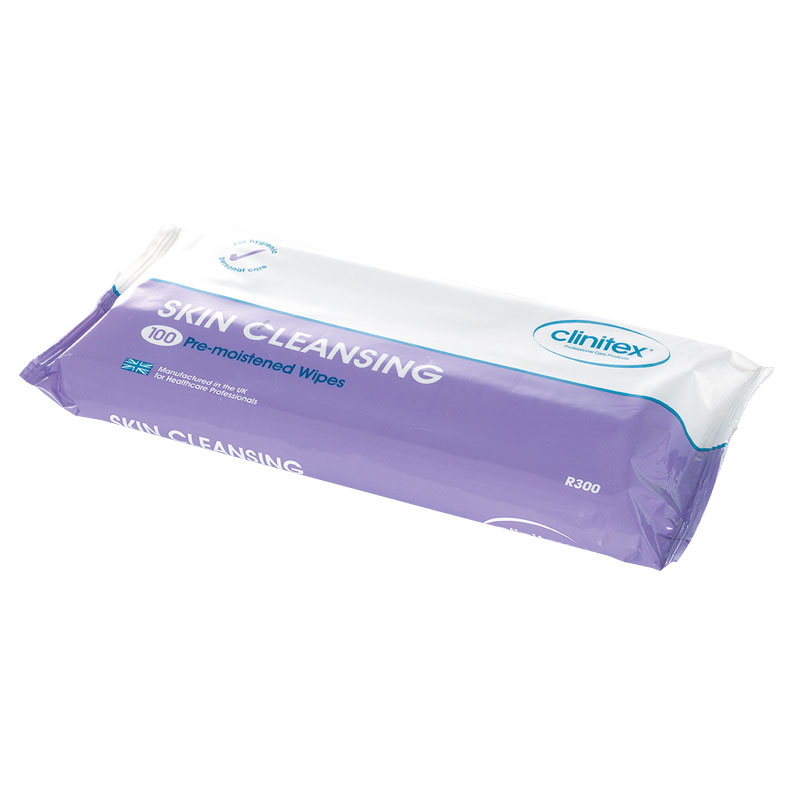 Polymoist Skin Cleansing Wipes (Pack/100)